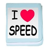 I love speed baby blanket
