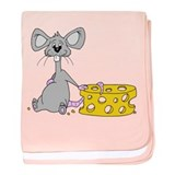 Cartoon Mouserat baby blanket