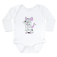 Scientist Lab Rat Long Sleeve Infant Bodysuit