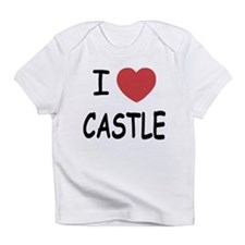 I heart Castle Infant T-Shirt