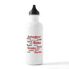 Italian sayings Water Bottle