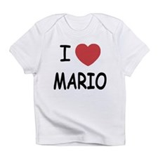 I heart Mario Infant T-Shirt