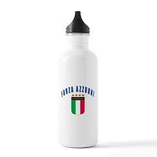Forza azzurri Water Bottle