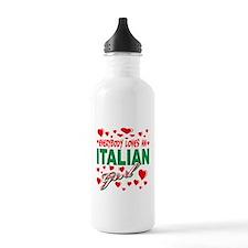 Italian Girls Water Bottle