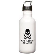 Ahoy Pirate Water Bottle