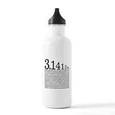 3.1415926 Pi Water Bottle