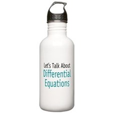 Differential Equation Water Bottle