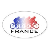 France Cycling Decal