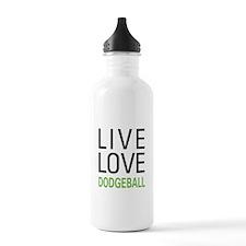 Live Love Dodgeball Water Bottle