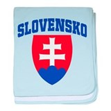 Slovakia baby blanket