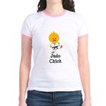 Judo Chick Jr. Ringer T-Shirt