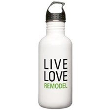 Live Love Remodel Water Bottle