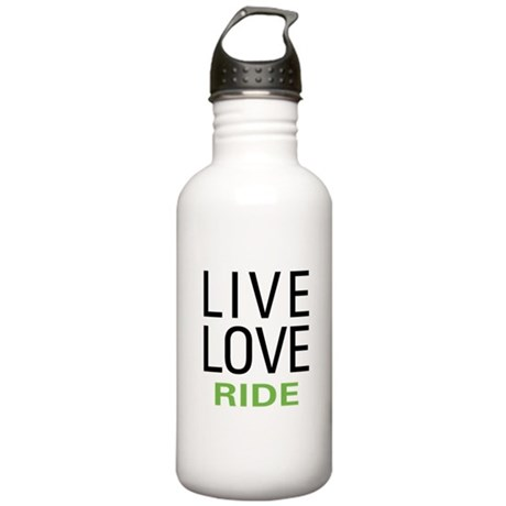 Live Love Ride Stainless Water Bottle 1.0L