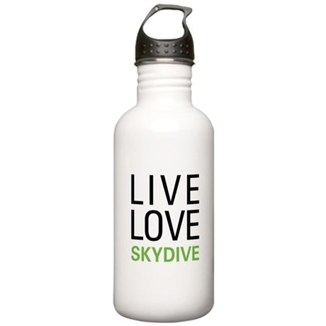 Live Love Skydive Stainless Water Bottle 1.0L