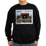 Holliwell Covered Bridge Sweatshirt (dark)