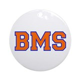 BMS Big Momma Salley Ornament (Round)
