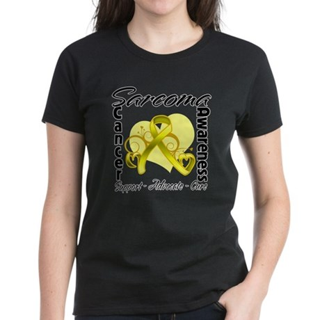 Sarcoma Awareness Women's Dark T-Shirt