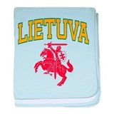Lithuania baby blanket