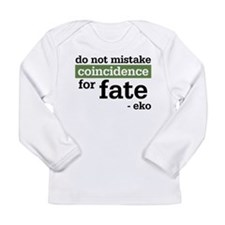 Lost Mr. Eko Quote Long Sleeve Infant T-Shirt