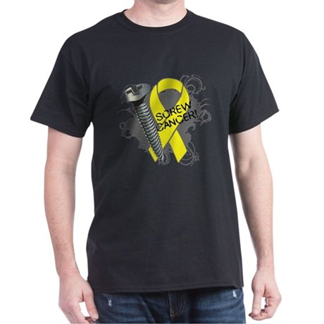 Screw Sarcoma Cancer Dark T-Shirt