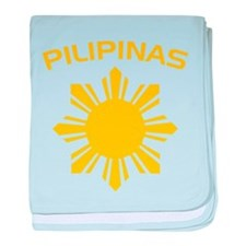 Philippines and Star baby blanket