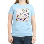 Rainbow Butterfly Pink T