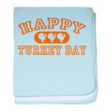Happy Turkey Day baby blanket