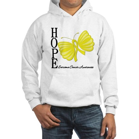 Hope Butterfly Sarcoma Hooded Sweatshirt