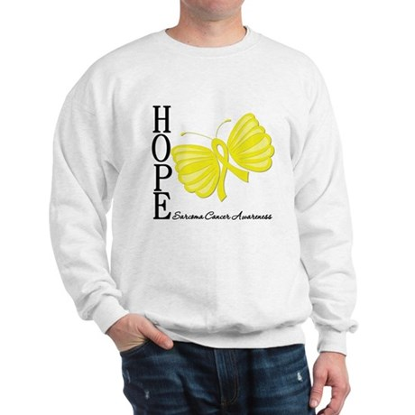 Hope Butterfly Sarcoma Sweatshirt