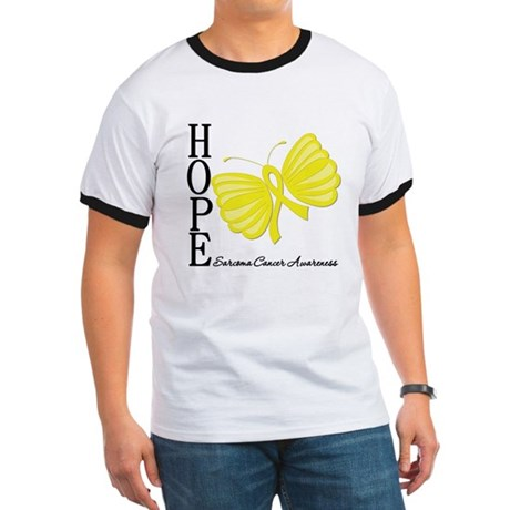 Hope Butterfly Sarcoma Ringer T
