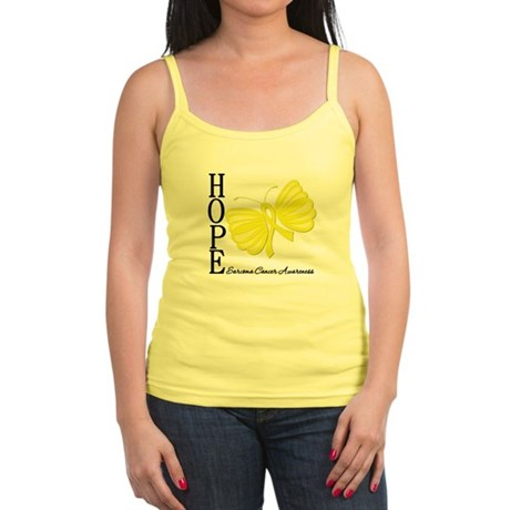 Hope Butterfly Sarcoma Jr. Spaghetti Tank