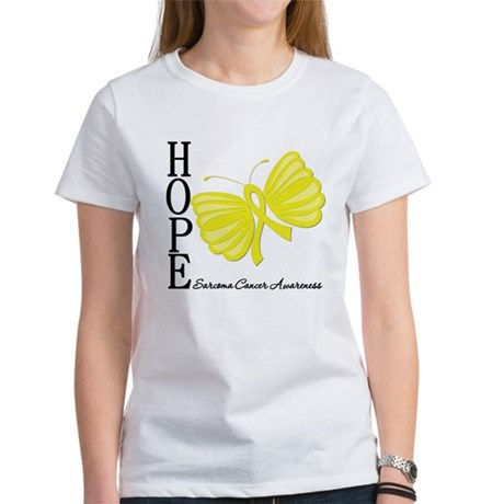 Hope Butterfly Sarcoma Women's T-Shirt