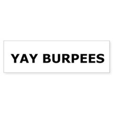 Yay Burpees Stickers