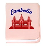 Cambodia Colors baby blanket