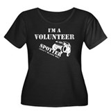 Volunteer Spotter Women's Plus Size Scoop Neck Dar