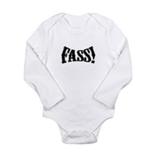 fass Silhouette Long Sleeve Infant Bodysuit