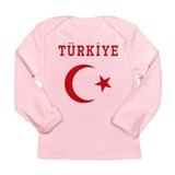 Turkiye Long Sleeve Infant T-Shirt