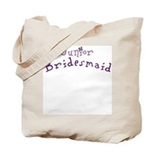 Flower Jr. Bridesmaid Tote Bag