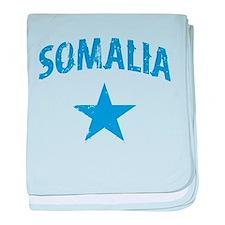 Somalia English baby blanket