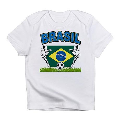Brazilian World cup soccer Infant T-Shirt