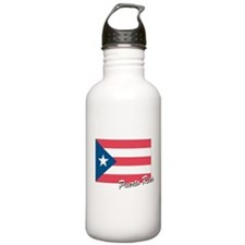 Flag of Puerto rico Sports Water Bottle