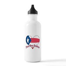 Puerto Rican Sweetheart Sports Water Bottle