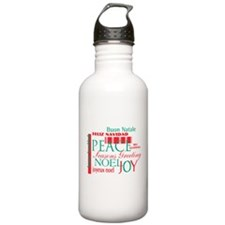 Happy holidays Water Bottle