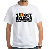I Love My Belgian Boyfriend Shirt