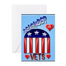 Remember Our Vets Greeting Cards (Pk of 20)