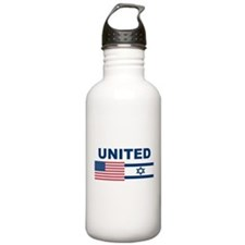 Support Isreal Water Bottle