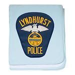 Lyndhurst Police baby blanket