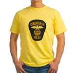 Lyndhurst Police Yellow T-Shirt