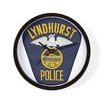 Lyndhurst Police Wall Clock
