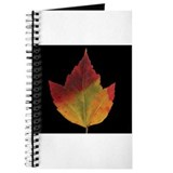 Fall Maple Leaf Journal